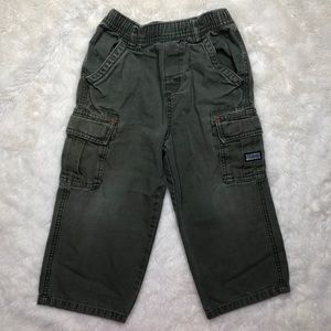 The Children's Place Green Cargo Pants Size 4T